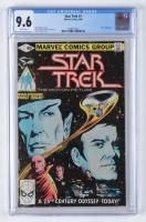 "1980 ""Star Trek"" Issue #1 Marvel Comic Book (CGC Encapsulated - 9.6) at PristineAuction.com"