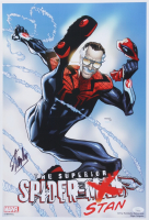 """Stan Lee Signed """"The Superior Spider-Stan"""" 13x19 Photo (JSA COA) at PristineAuction.com"""