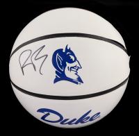 RJ Barrett Signed Duke Blue Devils Logo Basketball (Fanatics Hologram) (See Description) at PristineAuction.com