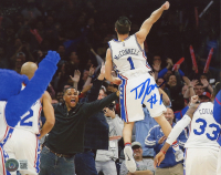 T. J. McConnell Signed 76ers 8x10 Photo (Beckett COA) at PristineAuction.com