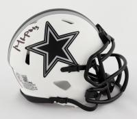 Michael Gallup Signed Cowboys Lunar Eclipse Alternate Speed Mini Helmet (Beckett Hologram) at PristineAuction.com