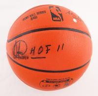 "Artis Gilmore Signed Spalding NBA Game Ball Series Basketball Inscribed ""HOF 11"" (Fanatics Hologram & Steiner Hologram) (See Description) at PristineAuction.com"