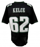 """Jason Kelce Signed Jersey Inscribed """"SB LII Champs"""" (JSA COA) at PristineAuction.com"""
