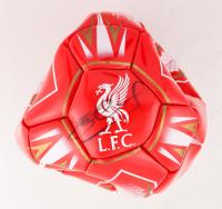 Steven Gerrard Signed Liverpool F.C. Reserves Logo Soccer Ball (Fanatics Hologram) (See Description) at PristineAuction.com