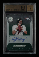 John Elway 2011 Totally Certified Green Signatures #148 #5/5 (BGS 9.5) at PristineAuction.com