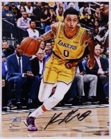 Kyle Kuzma Signed Lakers 8x10 Photo (Fanatics Hologram) (See Description) at PristineAuction.com