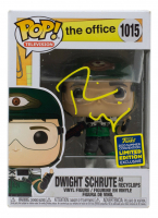 "Rainn Wilson Signed ""The Office"" #1015 Dwight Schrute as Recyclops Funko Pop! Vinyl Figure (PSA COA) at PristineAuction.com"