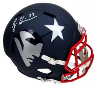 Rodney Harrison Signed Patriots Full-Size AMP Alternate Speed Helmet (Beckett Hologram) at PristineAuction.com