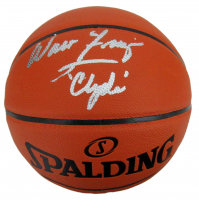 """Walt Frazier Signed NBA Silver Series Basketball Inscribed """"Clyde"""" (JSA COA) at PristineAuction.com"""
