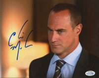 "Christopher Meloni Signed ""Law & Order: SVU"" 8x10 Photo (AutographCOA COA) at PristineAuction.com"