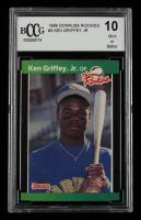 Ken Griffey Jr. 1989 Donruss Rookies #3 (BCCG 10) at PristineAuction.com