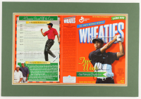Tiger Woods Signed 15x21 Custom Matted Photo Display (JSA LOA) (See Description) at PristineAuction.com