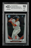 Mookie Betts 2014 Bowman Chrome Prospects #BCP109 (BCCG 10) at PristineAuction.com