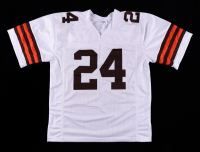 Nick Chubb Signed Jersey (Beckett Hologram) at PristineAuction.com