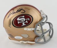 Deebo Samuel Signed 49ers Speed Mini Helmet (JSA COA) at PristineAuction.com