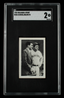 Babe Ruth / Max Schmeling 1932 Bulgaria Sport #256 (SGC 2) at PristineAuction.com