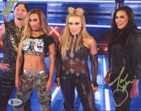 Tamina Snuka & James Ellsworth Signed WWE 8x10 Photo (Beckett COA) at PristineAuction.com