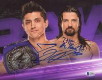 T. J. Perkins & Brian Kendricks Signed WWE 8x10 Photo (Beckett COA) at PristineAuction.com