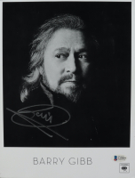 Barry Gibb Signed 8.5x11 Photo (Beckett COA) at PristineAuction.com