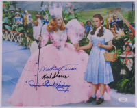 """Mickey Carroll, Donna Stewart-Hardaway, & Karl Slover Signed """"The Wizard of Oz"""" 11x14 Photo (JSA COA) at PristineAuction.com"""