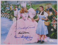 """Mickey Caroll, Donna Stewart-Hardaway, & Karl Slover Signed """"The Wizard of Oz"""" 11x14 Photo (JSA COA) at PristineAuction.com"""