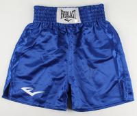 Roy Jones Jr. Signed Everlast Boxing Trunks (Beckett COA) at PristineAuction.com