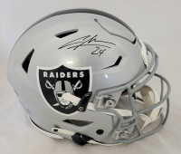 Charles Woodson Signed Radiers Full-Size Authentic On-Field SpeedFlex Helmet (Fanatics Hologram) at PristineAuction.com