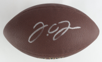 J. C. Jackson Signed NFL Logo Football (JSA COA) at PristineAuction.com