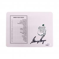Gary Player Signed Augusta National Scorebook (JSA COA) at PristineAuction.com