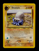Omanyte 2001 Pokemon Neo Discovery Unlimited #60 at PristineAuction.com