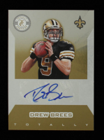Drew Brees 2011 Totally Certified Gold Signatures #5 #1/15 at PristineAuction.com