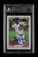 Ed Howard Signed 2020 Bowman Draft #BD98 (BGS Encapsulated) at PristineAuction.com