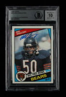 Mike Singletary Signed 1984 Topps #232 (BGS Encapsulated) at PristineAuction.com