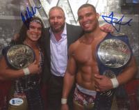 Chad Gable & Jason Jordan Signed WWE 8x10 Photo (Beckett COA) at PristineAuction.com