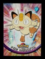 Meowth 1999 Pokemon TV Animation Series 1 #52 at PristineAuction.com