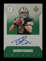 Drew Brees 2011 Totally Certified Green Signatures #5 #3/5 at PristineAuction.com