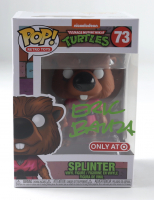 "Eric Bauza Signed ""Teenage Mutant Ninja Turtles"" #73 Splinter Funko Pop Vinyl Figure (PSA COA) (See Description) at PristineAuction.com"