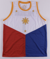 """Manny Pacquiao Signed Jersey Inscribed """"Packman"""" (Beckett Hologram) at PristineAuction.com"""