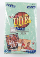 1992-93 Fleer Ultra Series 1 Basketball Box of (36) Packs (See Description) at PristineAuction.com