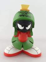 "Eric Bauza Signed ""Marvin The Martian"" Statue (PSA Hologram) (See Description) at PristineAuction.com"