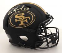 Bill Romanowski Signed 49ers Full-Size Authentic On-Field Eclipse Alternate Speed Helmet (Beckett COA) at PristineAuction.com