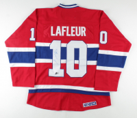 Guy Lafleur Signed Canadiens Jersey (Beckett COA) at PristineAuction.com