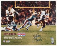 "John Riggins Signed Redskins 16x20 Photo Inscribed Inscribed ""4TH and 1"" (Beckett COA & Riggins Hologram) at PristineAuction.com"