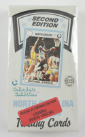 """North Carolina Tar Heels Second Edition Collegiate Collection """"All-Time Greats"""" Card Box of (288) Cards at PristineAuction.com"""
