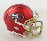 Jimmy Garoppolo Signed 49ers Blaze Speed Mini-Helmet (TriStar Hologram) at PristineAuction.com