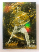 Shohei Ohtani 2018 Topps Fire Flame Throwers Gold #FT13 at PristineAuction.com
