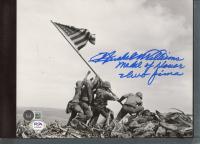 "Hershel Williams Signed 8x10 Photo Inscribed ""Medal of Honor"" & ""Iwo Jima"" (Beckett COA & PSA COA) at PristineAuction.com"