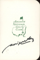 Jim Nantz Signed Augusta National Golf Club Score Card (JSA Hologram) at PristineAuction.com
