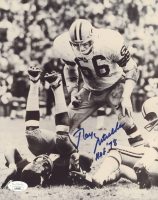 """Ray Nitschke Signed Packers 8x10 Photo Inscribed """"HOF 78"""" (JSA Hologram) at PristineAuction.com"""