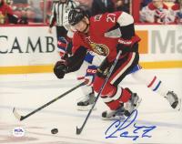 Curtis Lazar Signed Senators 8x10 Photo (PSA COA) at PristineAuction.com